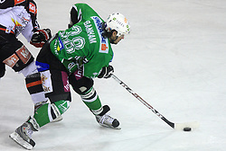Frank Banham at 39th Round of EBEL League ice hockey match between HDD Tilia Olimpija and Acroni Jesenice, on December 30, 2008, in Arena Tivoli, Ljubljana, Slovenia. Tilia Olimpija won 4:3.(Photo by Vid Ponikvar / SportIda).