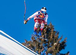 22.01.2019, Streif, Kitzbühel, AUT, FIS Weltcup Ski Alpin, Abfahrt, Herren, 1. Training, im Bild Romed Baumann (AUT) // Romed Baumann of Austria during the 1st Training of mens downhill of FIS Ski Alpine Worldcup at the Streif in Kitzbühel, Austria on 2019/01/22. EXPA Pictures © 2019, PhotoCredit: EXPA/ Stefan Adelsberger
