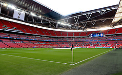 Wembley Stadium ahead of Tottenham Hotspur's first UEFA Champions League Match of the 2016/17 fixture - Mandatory by-line: Robbie Stephenson/JMP - 14/09/2016 - FOOTBALL - Wembley Stadium - London, England - Tottenham Hotspur v Monaco - UEFA Champions League