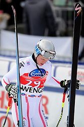 19.01.2013, Lauberhornabfahrt, Wengen, SUI, FIS Weltcup Ski Alpin, Abfahrt, Herren, im Bild Florian Scheiber (AUT) enttaeuscht im Ziel // reacts after his run of mens downhillrace of FIS Ski Alpine World Cup at the Lauberhorn downhill course, Wengen, Switzerland on 2013/01/19. EXPA Pictures © 2013, PhotoCredit: EXPA/ Freshfocus/ Urs Lindt..***** ATTENTION - for AUT, SLO, CRO, SRB, BIH only *****