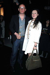 GILES DEACON and KATIE GRAND at the launch of his Gold range for New Look held at their store 500 Oxford Street, London W1 on 12th March 2006.<br /><br />NON EXCLUSIVE - WORLD RIGHTS