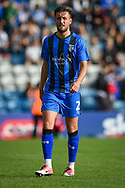 Gillingham FC defender Luke O'Neill (2) during the EFL Sky Bet League 1 match between Gillingham and Southend United at the MEMS Priestfield Stadium, Gillingham, England on 13 October 2018.