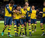 Manchester City v Arsenal 180115