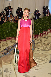 Claire Danes attending the Costume Institute Benefit at The Metropolitan Museum of Art celebrating the opening of Heavenly Bodies: Fashion and the Catholic Imagination. The Metropolitan Museum of Art, New York City, New York, May 7, 2018. Photo by Lionel Hahn/ABACAPRESS.COM