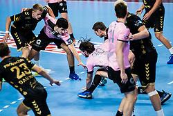 Arsenije Dragasevic  of RK Celje Pivovarna Lasko during handball match between RK Celje Pivovarna Lasko (SLO) and THW Kiel (GER) in Group Phase B of EHF Champions League 2020/21, on 1 October, 2020 in Arena Zlatorog, Celje, Slovenia. Photo by Grega Valancic / Sportida