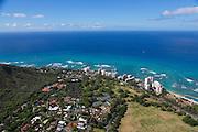 Gold Coast, Diamond Head, Waikiki, Honolulu, Oahu, Hawaii