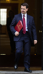 Downing Street, London, October 18th 2016. Northern Ireland Secretary James Brokenshire leaves 10 Downing Street in London following the weekly cabinet meeting.