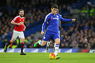 Chelsea's Oscar during the Barclays Premier League match between Chelsea and Manchester United at Stamford Bridge, London, England on 7 February 2016. Photo by Phil Duncan.