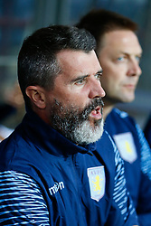 Aston Villa assistant manager Roy Keane looks on before the match - Photo mandatory by-line: Rogan Thomson/JMP - 07966 386802 - 27/08/2014 - SPORT - FOOTBALL - Villa Park, Birmingham - Aston Villa v Leyton Orient - Capital One Cup Round 2.