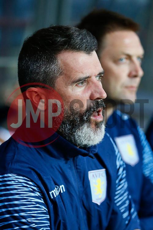 Aston Villa assistant manager Roy Keane looks on before the match - Photo mandatory by-line: Rogan Thomson/JMP - 07966 386802 - 27/08/2014 - SPORT - FOOTBALL - Villa Park, Birmingham - Aston Villa v Leyton Orient - Capital One Cup Round 2.