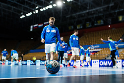 during Men's EHF EURO 2022 Qualifiers between national teams Slovenia and Netherlands in Arena Zlatorog, Celje, Slovenia on 10. January, 2021. Photo by Grega Valancic