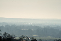 Dag walkers out enjoying the early morning  view in Beautiful views of Warwickshire during the coronavirus outbreak photo Mark Anton Smith