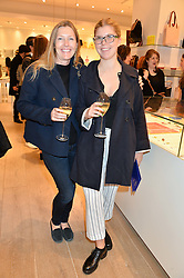 Left to right, SOPHIE CONRAN and her daughter COCO CONRAN at the launch of the Conran Shop at Selfridge's, Oxford Street, London on 22nd September 2015.