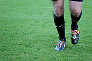 Referee's Rainbow Laces before the EFL Sky Bet League 1 match between Northampton Town and Bury at Sixfields Stadium, Northampton, England on 25 November 2017. Photo by Nigel Cole.