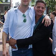 NLD/Amsterdam/20130906 - Perspresentatie cast Hartenstraat, Sieger Sloot en Tygo Gernandt