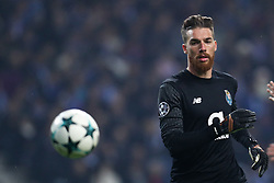 December 6, 2017 - Porto, Porto, Portugal - Porto's Portuguese goalkeeper Jose Sa in action during the UEFA Champions League Group G match between FC Porto and AS Monaco FC at Dragao Stadium on December 6, 2017 in Porto, Portugal. (Credit Image: © Dpi/NurPhoto via ZUMA Press)