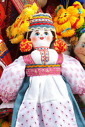 stock photo of traditional toys in etnomire, russia