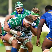 Treviso, Italy, 25/09/2021 Stadio di Monigo<br /> United Rugby Championship Benetton Vs Stormers<br /> Niccolo Cannone , Lorenzo Cannone