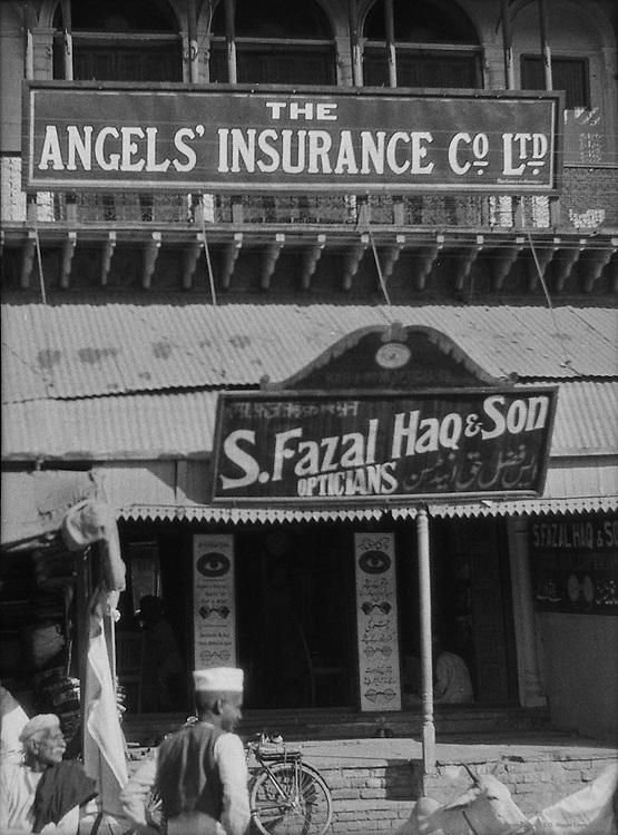 Angels' Insurance Company, Chandni Chowk, Delhi, India, 1929