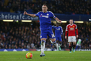 Chelsea's John Terry during the Barclays Premier League match between Chelsea and Manchester United at Stamford Bridge, London, England on 7 February 2016. Photo by Ellie Hoad.