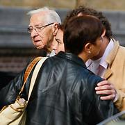 NLD/Amsterdam/20101012 - Herdenkingsdienst overleden Antonie Kamerling, vader