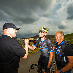 WIJSTER (NED) June 20: <br /> CYCLING <br /> Dutch Nationals Road Men up and around the Col du VAM<br /> Sjoerd Bax (Netherlands / Metec - TKH Continental Cyclingteam p/b Mantel)<br /> silver medal