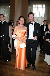HAMISH MACDONALD and LOTTA LEVAY at the 13th annual Russian Summer Ball held at the Banqueting House, Whitehall, London on 14th June 2008.<br /><br />NON EXCLUSIVE - WORLD RIGHTS