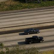 Cars on Highway 101. California.USA