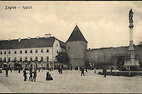 Zagreb : Kaptol. <br /> <br /> Impresum[S. l. : S. n., između 1905 i 1907].<br /> Materijalni opis1 razglednica : tisak ; 8,9 x 13,9 cm.<br /> Vrstavizualna građa • razglednice<br /> ZbirkaGrafička zbirka NSK • Zbirka razglednica<br /> ProjektPozdrav iz Zagreba • Pozdrav iz Hrvatske<br /> Formatimage/jpeg<br /> PredmetZagreb –– Kaptol<br /> Bakačeva kula (Zagreb)<br /> SignaturaRZG-KAP-71<br /> Obuhvat(vremenski)20. stoljeće<br /> NapomenaRazglednica nije putovala.<br /> PravaJavno dobro<br /> Identifikatori000955757<br /> NBN.HRNBN: urn:nbn:hr:238:286711 <br /> <br /> Izvor: Digitalne zbirke Nacionalne i sveučilišne knjižnice u Zagrebu