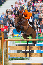 Jeroen Dubbeldam, (NED), Zenith SFN - Team & Individual Competition Jumping Speed - Alltech FEI World Equestrian Games™ 2014 - Normandy, France.<br /> © Hippo Foto Team - Leanjo De Koster<br /> 02-09-14