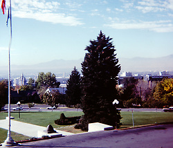 1978 Salt Lake City and Utah<br />  Photos taken by George Look.  Image started as a color slide.