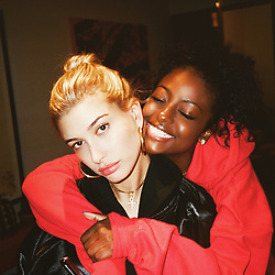 """Hailey Baldwin releases a photo on Instagram with the following caption: """"HAPPY BIRTHDAY @justineskye I love you for life, ur not gettin rid of me no matter how annoying I can get. U are one of a kind in so many ways! \ud83c\udf39\ud83c\udf82\ud83c\udf822\ufe0f\u20e32\ufe0f\u20e3"""". Photo Credit: Instagram *** No USA Distribution *** For Editorial Use Only *** Not to be Published in Books or Photo Books ***  Please note: Fees charged by the agency are for the agency's services only, and do not, nor are they intended to, convey to the user any ownership of Copyright or License in the material. The agency does not claim any ownership including but not limited to Copyright or License in the attached material. By publishing this material you expressly agree to indemnify and to hold the agency and its directors, shareholders and employees harmless from any loss, claims, damages, demands, expenses (including legal fees), or any causes of action or allegation against the agency arising out of or connected in any way with publication of the material."""