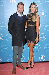© Licensed to London News Pictures. 07/10/2014, UK. Brian McFadden & Vogue Williams, ITVBe - Launch Party, ITV Studios Southbank, London UK, 07 October 2014. Photo credit : Brett D. Cove/Piqtured/LNP