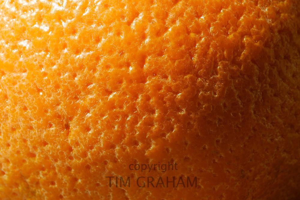 Close-up of orange peel