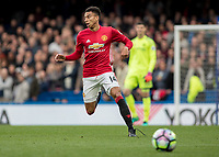 Football - 2016/2017 Premier League - Chelsea V Manchester United<br /> <br /> Jesse Lingard of Manchester United at Stamford Bridge.<br /> <br /> COLORSPORT/DANIEL BEARHAM