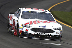 June 1, 2018 - Long Pond, Pennsylvania, United States of America - Cole Custer (51) brings his car through the turns during practice for the Pocono 400 at Pocono Raceway in Long Pond, Pennsylvania. (Credit Image: © Chris Owens Asp Inc/ASP via ZUMA Wire)