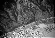 "Ackroyd 02518-9. ""Oil fields on NW St. Helens Road. November 8, 1950"" (Wacker Siltronic, Pennsylvania Salt Mfg. Co., Elf Autochem, Arkema, SP&S railroad bridge.)"