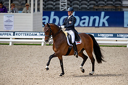 Bacher Florian, AUT, Fidertraum<br /> European Championship Dressage<br /> Rotterdam 2019<br /> © Hippo Foto - Dirk Caremans