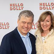 NLD/Rotterdam/20200308 - Hello Dolly premiere , Charles Groenhuijsen en partner Karin van der Cammen