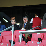 Turkey's national soccer team coach Guus HIDDINK during their Turkish superleague soccer derby match Galatasaray between Trabzonspor at the TT Arena in Istanbul Turkey on Sunday, 10 April 2011. Photo by TURKPIX