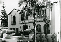 1936 Garden of Allah Hotel on Sunset Blvd. in West Hollywood