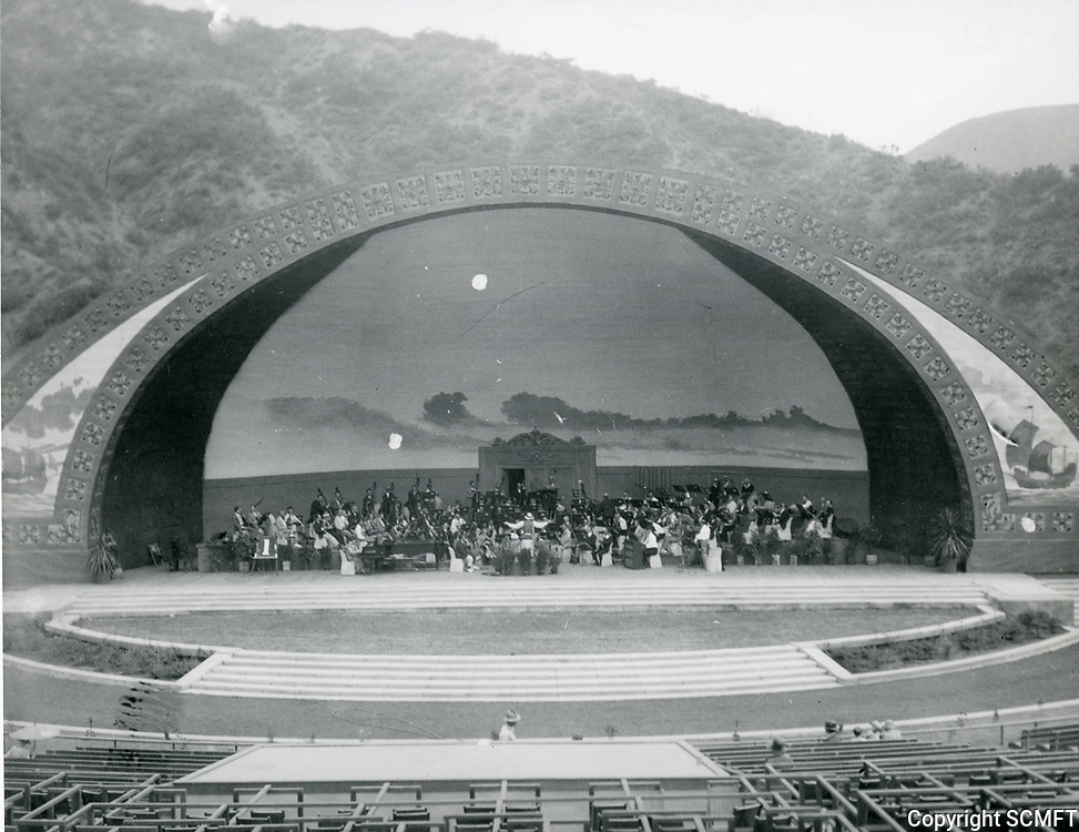 Hollywood Bowl's first shell