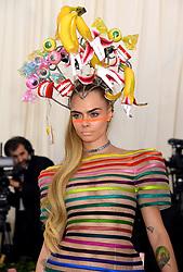 Cara Delevingne attending the Metropolitan Museum of Art Costume Institute Benefit Gala 2019 in New York, USA.