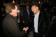 Kenny Jones and Brian Stein, PJ's Annual Polo Party . Annual Pre-Polo party that celebrates the start of the 2007 Polo season.  PJ's Bar & Grill, 52 Fulham Road, London, SW3. 14 May 2007. <br /> -DO NOT ARCHIVE-© Copyright Photograph by Dafydd Jones. 248 Clapham Rd. London SW9 0PZ. Tel 0207 820 0771. www.dafjones.com.