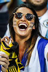 Fan during the 2018 FIFA World Cup Russia round of 16 match between Uruguay and at the Fisht Stadium on June 30, 2018 in Sochi, Russia