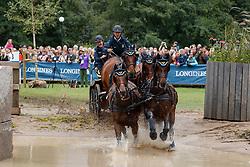Persson Fredrik, SWE, Bartes, Corfy, Don Catcher, Samba Girl, Twister<br /> FEI European Driving Championships - Goteborg 2017 <br /> © Hippo Foto - Dirk Caremans<br /> 26/08/2017,