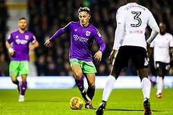 Josh Brownhill of Bristol City iis challenged by Ryan Sessegnon of Fulham  - Rogan/JMP - 31/10/2017 - Craven Cottage - London, England - Fulham FC v Bristol City - Sky Bet Championship.