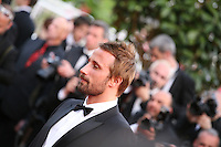Actor Matthias Schoenaerts at the gala screening of the film De rouille et d'os at the 65th Cannes Film Festival. Thursday 17th May 2012, the red carpet at Palais Des Festivals in Cannes, France.