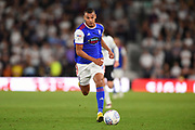 Ipswich Town forward Kayden Jackson (9) during the EFL Sky Bet Championship match between Derby County and Ipswich Town at the Pride Park, Derby, England on 21 August 2018.