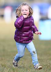 Mia Tindall at The Gatcombe Spring Horse Trials - 25 March 2018